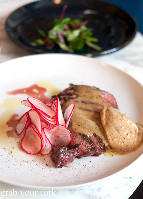 steak beef meat bagna cauda radish ester chippendale