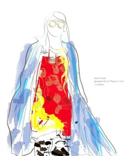Bernhard Willhelm Fashion Illustration