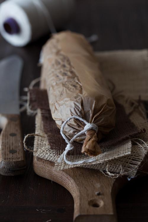 Chocolate Salami 1