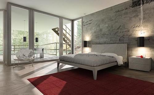 MAZZALI: REGOLO DECO' bed , il letto by MAZZALIARMADI.IT