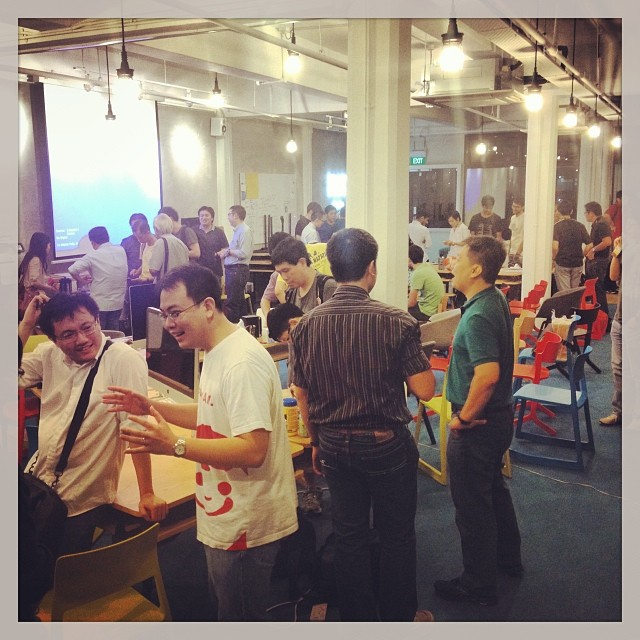 Very lucky to be always surrounded by makers and hackers - constantly buzzing my to make cool stuff!! #web #iot