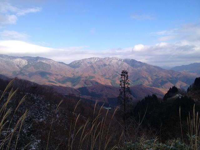 虎子山 国見峠からの展望