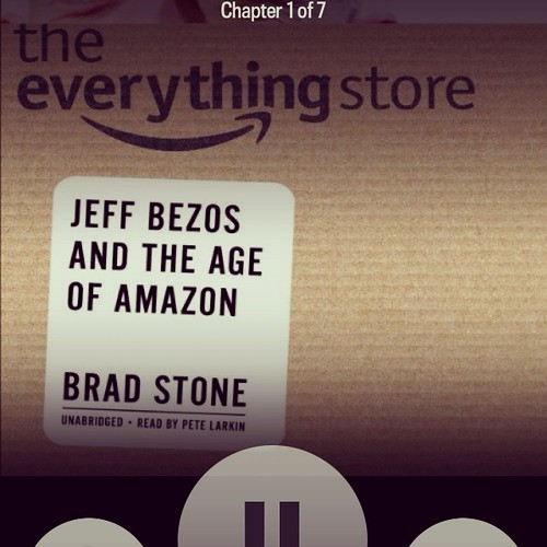 New audiobook! The Everything Store