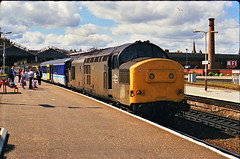 37240 at Inverness 16/07/90 1T24 1217 Inverness - Glasgow Queen St...