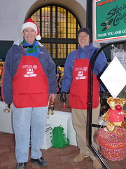 Bill and Steve Ringing Bells In The Cool Afternoon Last Saturday