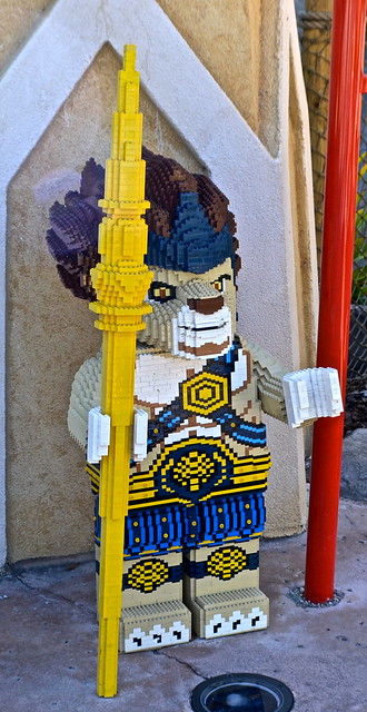 Legoland, Florida - Chima Art