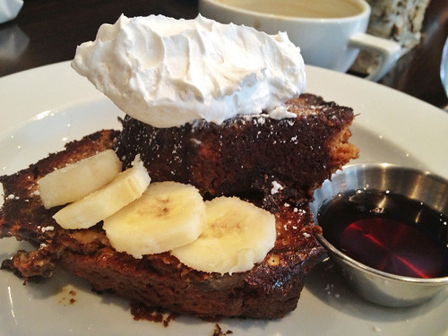 Piquant - Banana Bread French Toast with Chantilly Cream