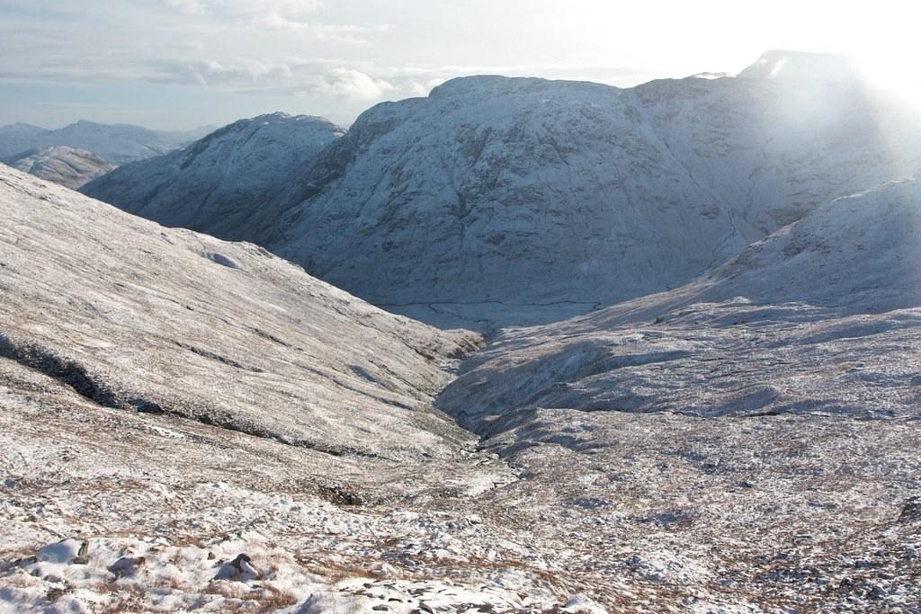 Descent to Glen Gour