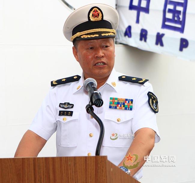 繼任的濟軍副司令員、北艦司令員邱延鵬海軍少將