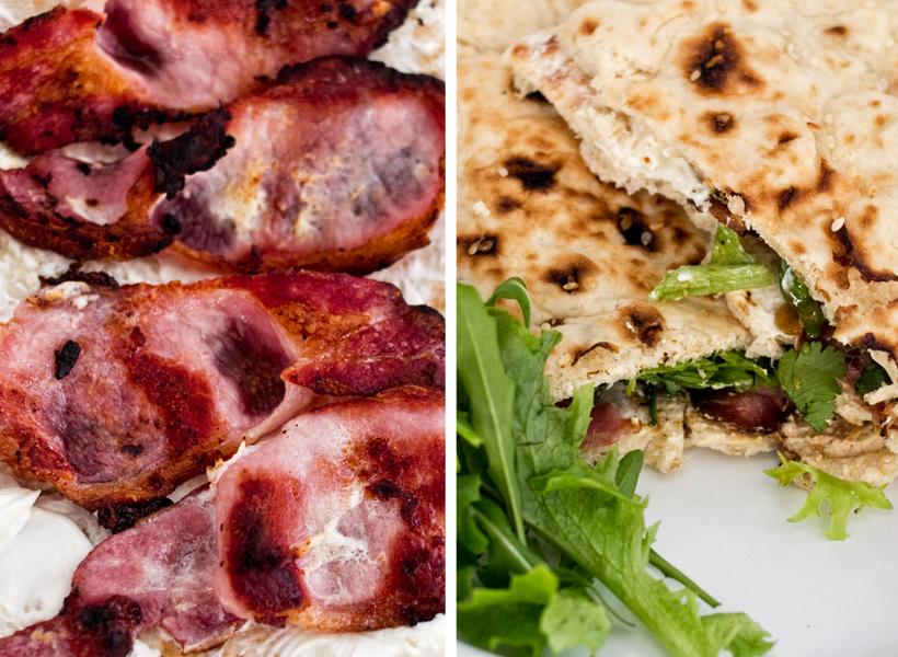 Bacon naan