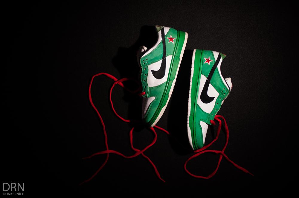 Heineken SB's.