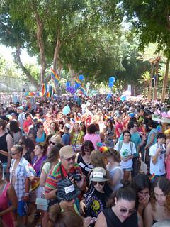 Día del Orgullo en Tel Aviv.