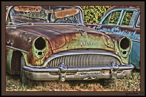 rusty buick 2