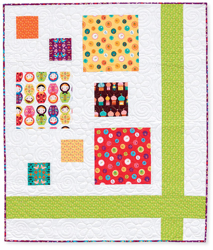 hopscotch and ribbons quilt.
