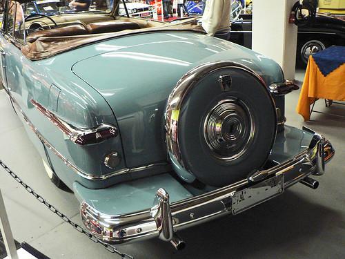 Ford Tudor Convertible Coupé 1951 (backside)