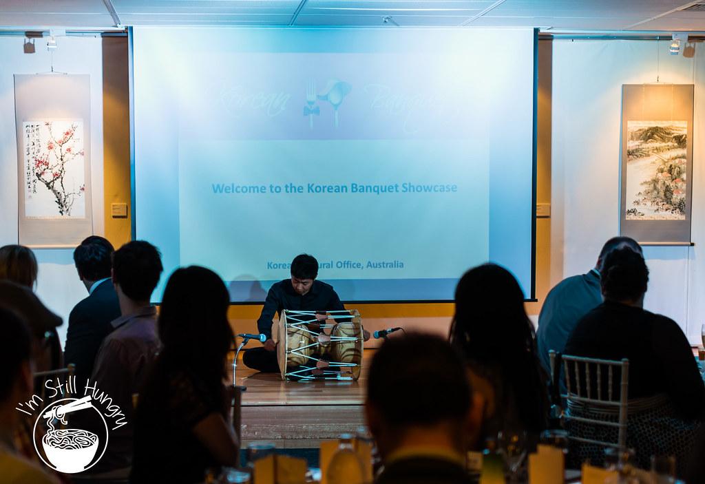 Janggu korean banquet showcase
