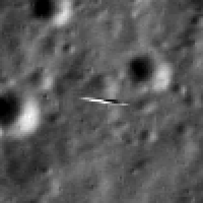 LADEE 9 km from LRO (LROC NAC)