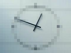 Shopping Centre clock