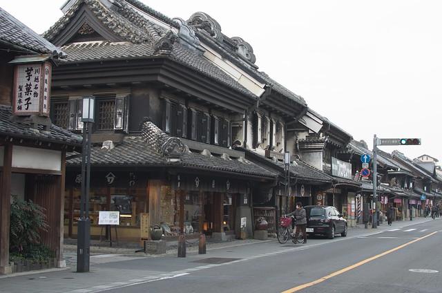 川越散策 walking in Kawagoe 2014年2月3日