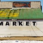 Abandoned fish market