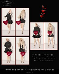 Positure Poses | From the Heart Valentines Vendor