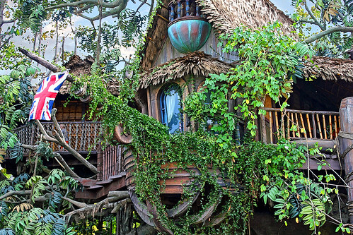 Tarzan Tree House with Filters