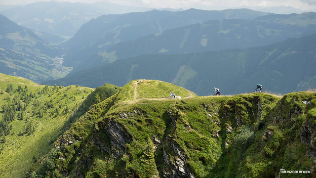 freeride MTB in Saalbach