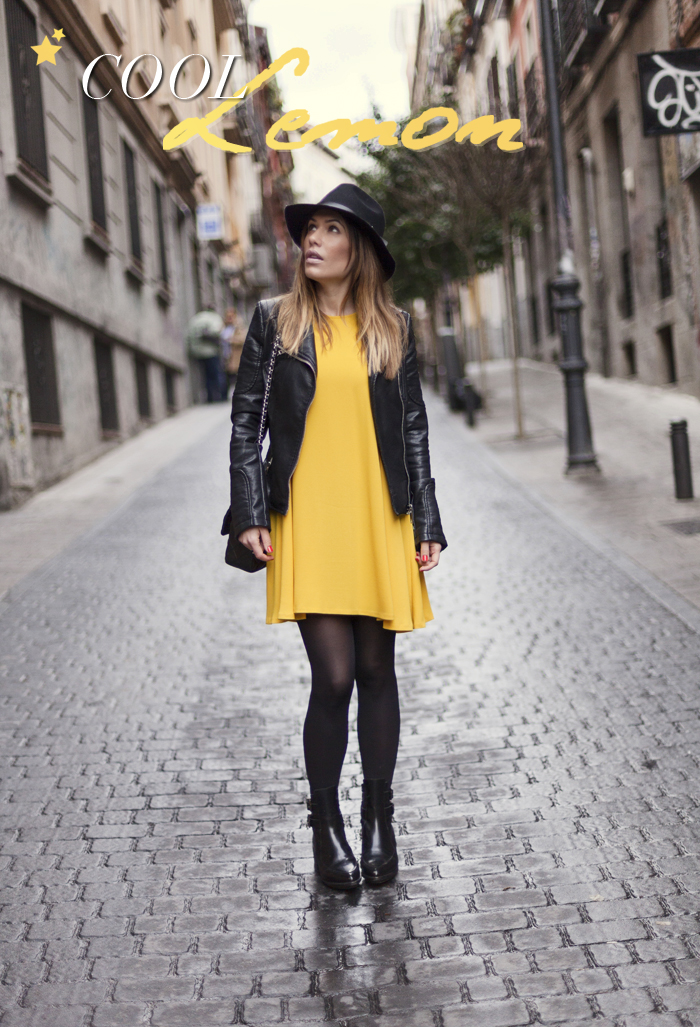 street style barbara crespo cool lemon zara dress chanel bag fashion blogger outfit