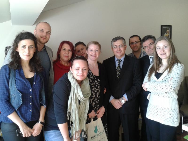 İsveçli öğrenciler Üsküdar Üniversitesini ziyaret etti