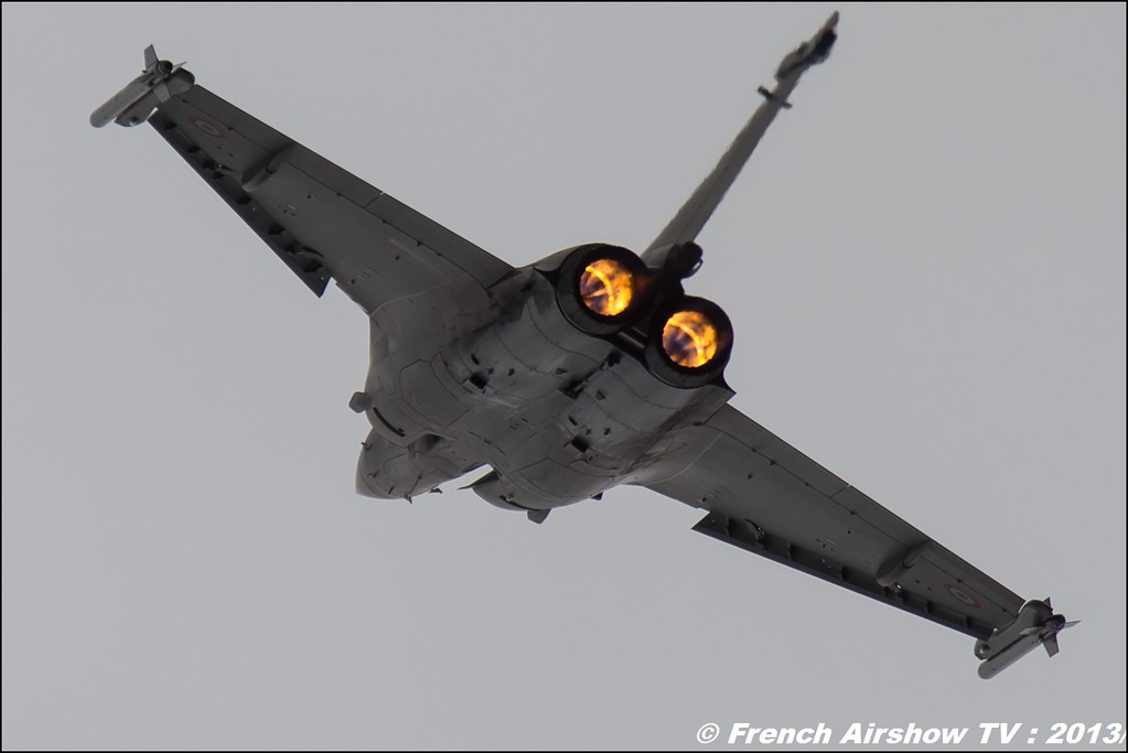 Team Rafale Solo Display ,Salon du Bourget 2013,Paris Airshow 2013