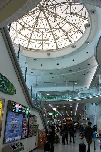 鹿児島空港の天井