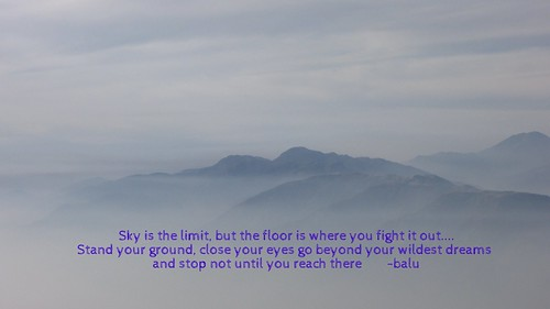 Sky is the limit, but..