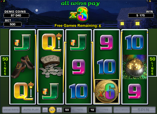 Lucky Leprechaun's Loot Free Spins