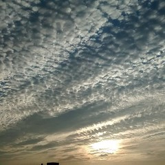 That #sky #clouds #blue #sunset #sun #evening #peace #breeze #nofilter #pattern