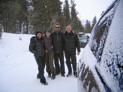 CMC Snowshoe Hike of Mount Saint Vrain