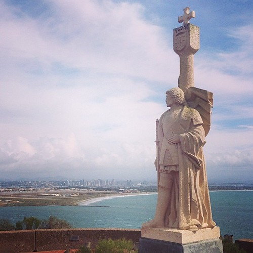 "Juan Rodriguez Cabrillo says ""Seriously it *never* rains here!"""