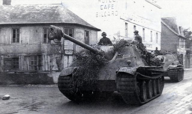 Two Jagdpanther Ausf.G1