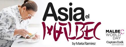 Asia el Malbec, original propuesta para festejar el día de nuestra cepa