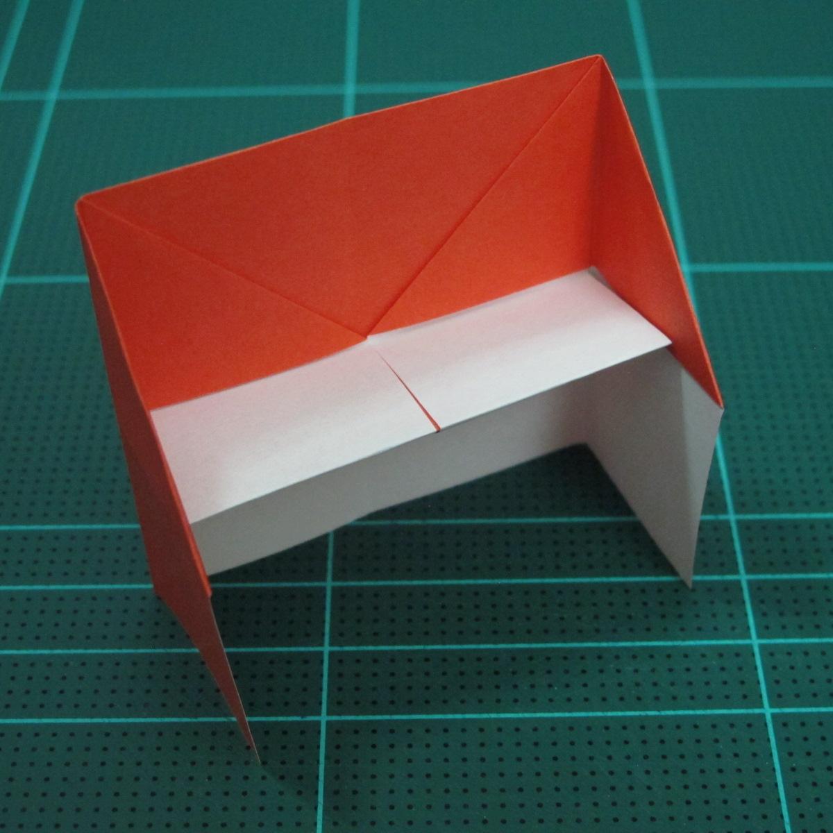 วิธีการพับกระดาษเป็นรูปเปียโน (Origami Piano) 012