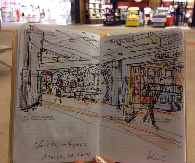 Narita shops