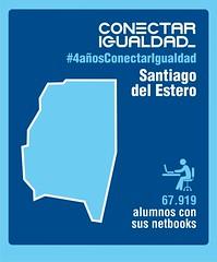 Provincia de Santiago del Estero. Conectar Igualdad 4 AÑOS