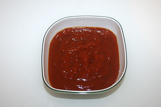 05 - Zutat Curry-Ketchup / Ingredient curry ketchup