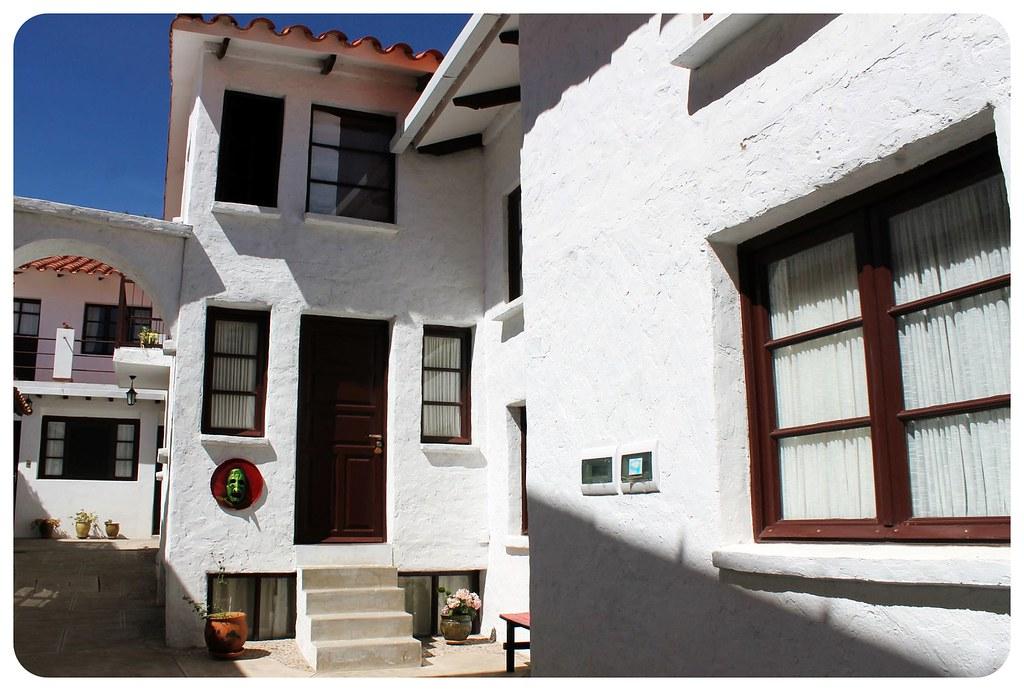 Hostal CasArte Takubamba houses