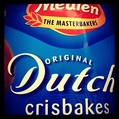 The Master Bakers (two words!) @MeulenHolland aren't master spellers #crispbakes, but perhaps that's why these are only 50p/pack #mindyourlanguage