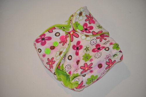 Bumstoppers Newborn Hybrid Fitted Spring Flowers