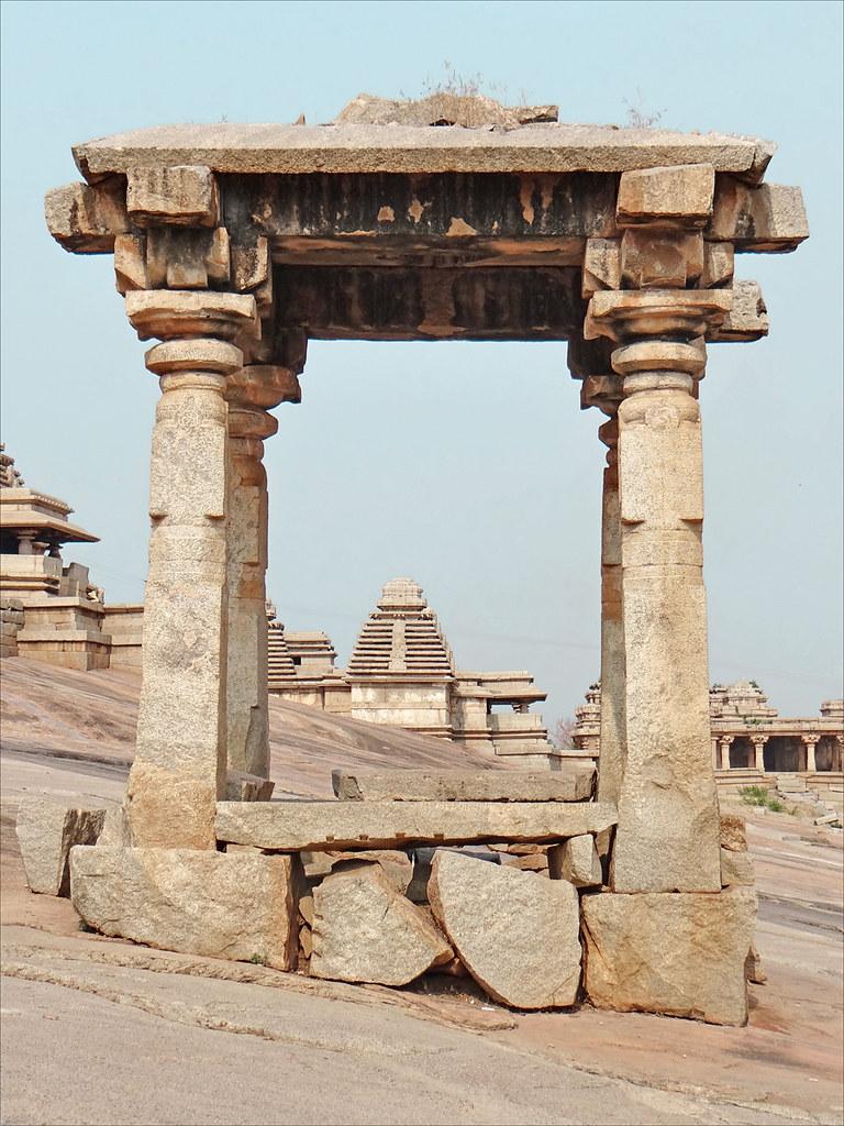 Colina de Hemakuta. Hampi. India.