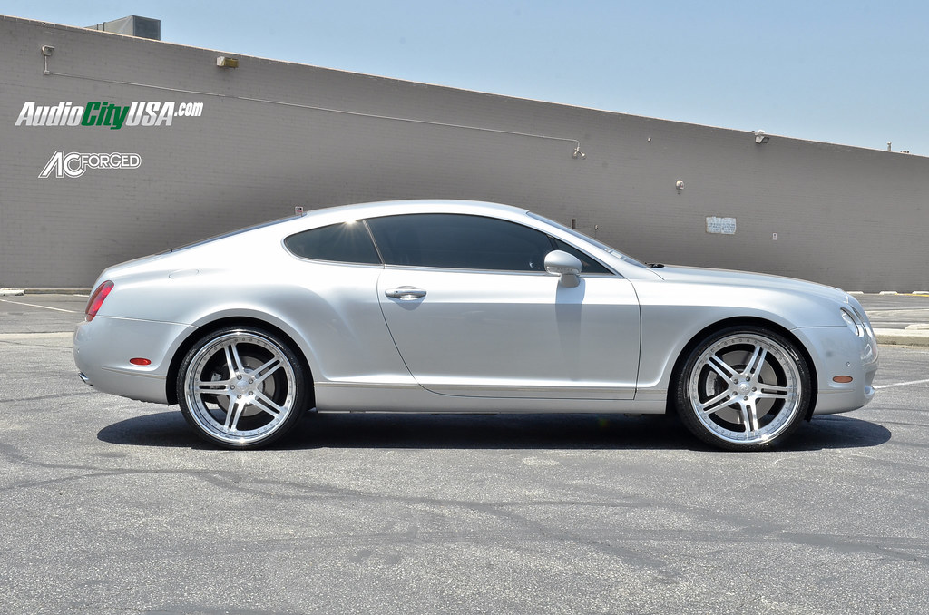 22 ac forged split 5 brush on 2006 bentley continental gt ac forged split 5 brush face chrome lip on 2006 bentley continental gt by audio city wheels on flickr sciox Images