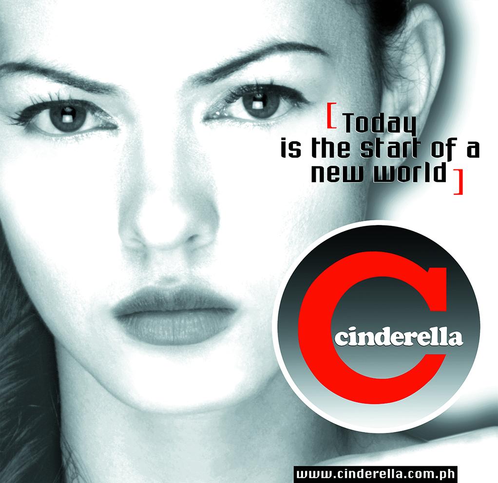 CINDERELLA BWlady 20 x 19.5
