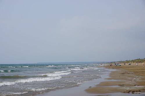 千里浜 (Chirihama Beach Drive Way)