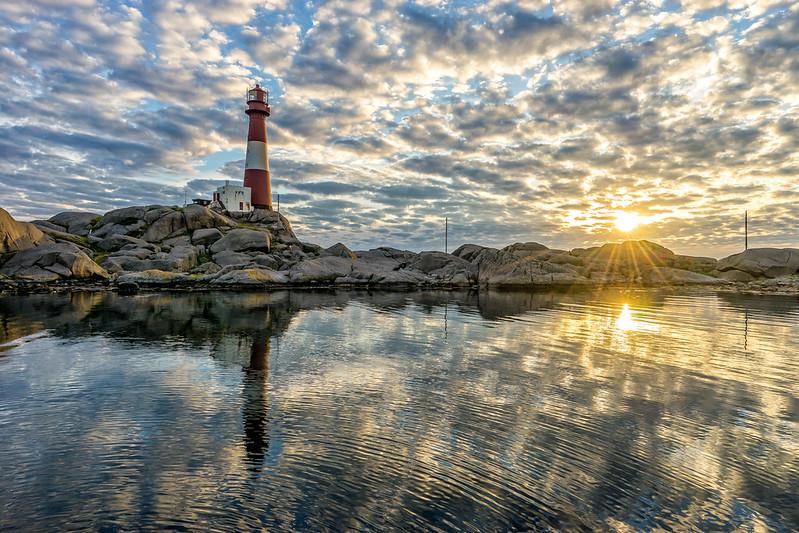 Fluffy lighthouse dream